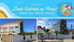Sobrado tríplex com 200m² à venda por R$ 920.000,00 - Guaratuba/PR - SO0025