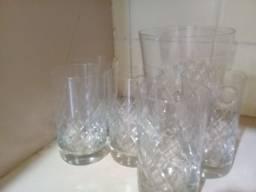 Título do anúncio: Jogo de copos com balde