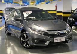 Civic Touring 1.5 Turbo Top De Linha Teto Solar Único Dono 11.000Km Todo Revisado