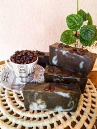 Sabonete Esfoliante Café e Canela