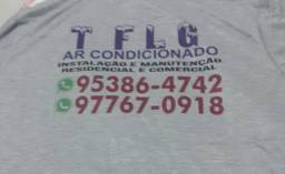 Tflg Ar condicionado instalação e manutenção