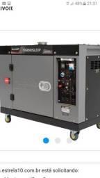 Grupo gerador 7.5 diesel novo