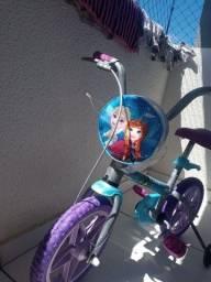 Título do anúncio: Bicicleta Infantil aro 14 Personalizada da Frozen