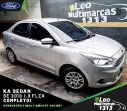 KA Sedan SE 2018 1.0 Flex Completo Mensais a partir de 789,00
