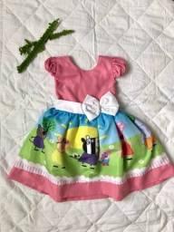 Vendo dois vestidos infantis tam 2 anos