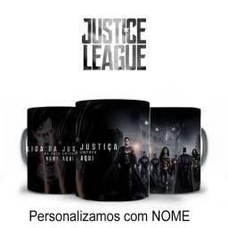 Liga Da Justiça do Zack Snyder Caneca Personalizada do filme com nome