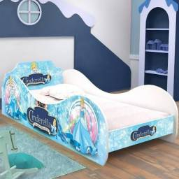 Cama infantil cinderela azul