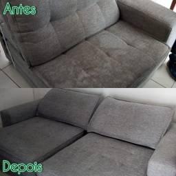 Título do anúncio: Lavagem a seco sofá-Salvador**