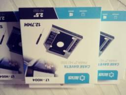 Case sata para HD 2.5' notebook