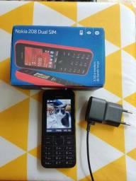 Título do anúncio: Nokia 208  bem novinho