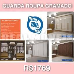 Guarda roupa gramado guarda roupa gramado 100% madeira guarda roupa 0292982