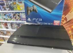 Playstation 3 Super Slim 500gb + Jogo De Brinde
