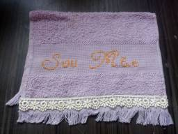 Bordados ponto cruz toalhinhas toalha