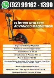Título do anúncio: Elíptico Super Premium Athletic Advanced Magnetron 8nv + Sensor de Pulso Lançamento 2021