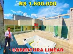 Título do anúncio: Reserva das Águas, Cobertura Linear, 280m², Terraço, Jacuzzi