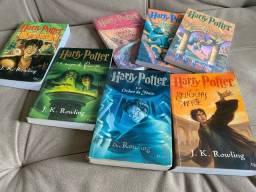 Título do anúncio: Livros Harry Potter
