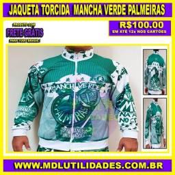 Jaqueta Torcida Mancha Verde Palmeiras
