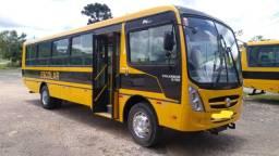 Ônibus escolar caminho da escola 2011 60 lugares curto zerado