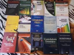 Livros do curso de Contabilidade