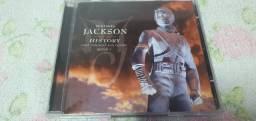 CD Michael Jackson HIStory Past, Present and Future Book I CD Duplo