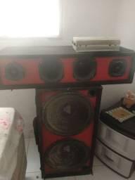 Vendo caixa de som usado