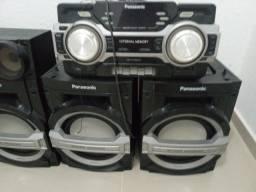 Som Panasonic SA-MAX200 (04 caixas) R$ 799,00