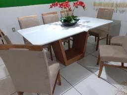 Título do anúncio: Mesa nova completa pronta de jantar para 8 pessoas