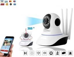 Título do anúncio: Câmera Wifi IP DH, Infravermelho, CFTv V360, D. Áudio, Alarme.