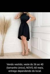 Título do anúncio: Vestido preto NOVO