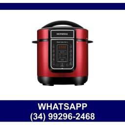 Título do anúncio:  Panela de Pressão Elétrica Mondial Arroz 220v 3 Litros * Nova