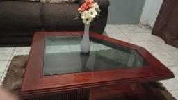 Título do anúncio: Mesa de centro, rack 2 metrô 10cm, comoda madeira  inbuia