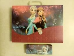 Título do anúncio: Maleta e estojo da Frozen.