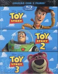 vendo coleçao box blu-ray do toy story