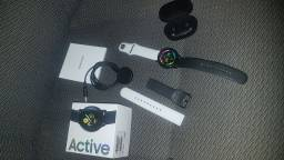 Galaxy watch  active +Fone airdots S xiaomi
