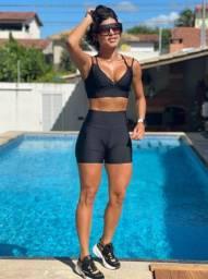 Conjunto Fitness Bermuda Belle Cazaroto