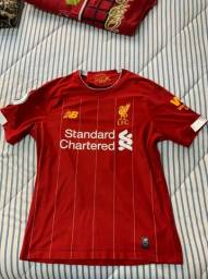 Camisa New Balance Liverpool 2019-20 Virgil