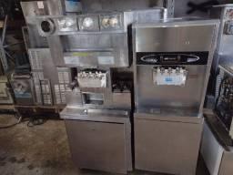 máquina de sorvete com bomba para alta produção e comercio de sorvete expresso 8 7 5 6