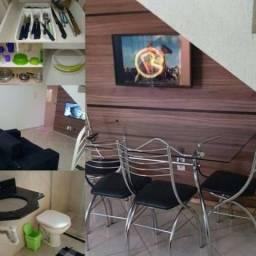 Apartamento estilo sobrado santa mônica