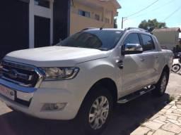 Ranger Limited 3.2 20v Diesel 4X4 Automática 2017 Cabine Dupla Branca Top de Linha - 2017