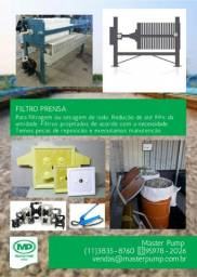 Filtro Prensa Em Diversos Tamanhos Master Pump