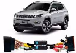 Desbloqueio De Multimídia com TV Full HD Jeep Compass 2016 a 2019 Faaftech