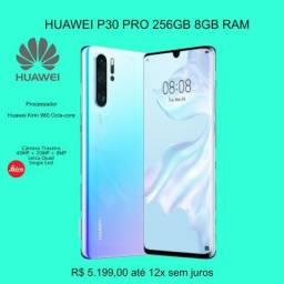 Huawei P30 Pro 256GB 8GB Ram. Até 12x sem juros. Lacrado !