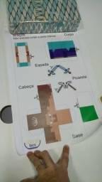 Caixa Little Up Box - Tema Geek (Jogos Clássicos)