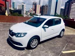 Renault Sandero 2017 expression 1.6 aceito carta credito troco e finacio - 2017