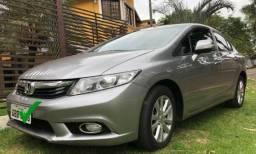 Civic LXR Autom 2014 Único dono; Vendo Urgente - 2014