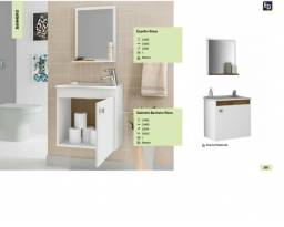 Gabinetes de banheiro / balcão com pia e espelho para banheiro