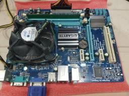 Kit Completo DDR3 - Processador, Placa Mãe e Memória Ram