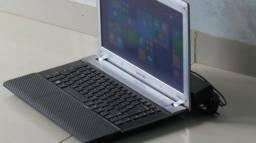 Samsung Dual dore-4GB-320GB,HDMI, Gravador de DVD, Bluetooth-Wireless-LED 14-Windows 8