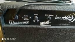 Caixa amplificada loudvox LM 80 para violão e outros
