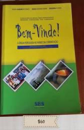 Livro Bem-Vindo português para estrangeiros (incluí brinde)